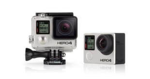 GoPro Hero 4 Black, Juoda