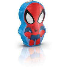 "Ночной  LED фонарик Philips Disney ""Spider-Man"", синий"