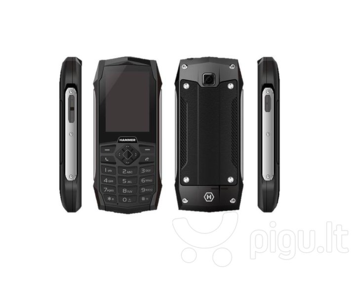 MyPhone Hammer 3, Dual SIM, Black