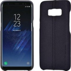 Usams Joe Series Ultra Thin Leather Back Case For Samsung Note 8 Black kaina ir informacija | Telefono dėklai | pigu.lt