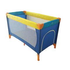Maniežas-kelioninė lovytė Smiki, mėlynas