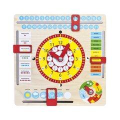 Medinis laikrodis ir kalendorius