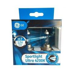 Автомобильные лампочки H7 12V 55W Ge Sportlight Ultra 58520SBU, блистер 2 шт.