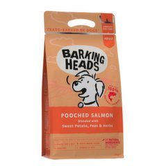 Barking Heads sausas maistas Pooched Salmon 2 kg