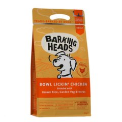 Barking Heads sausas maistas Bowl Lickin Chicken, 2 kg