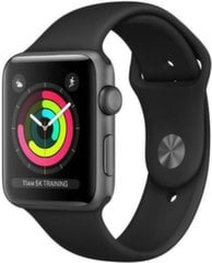 Apple Watch S3, 38mm, Juoda