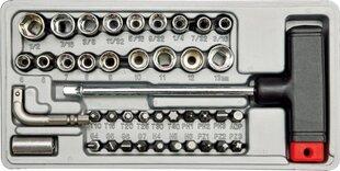 Įrankių rinkinys 41 vnt. Vorel 65150 kaina ir informacija | Mechaniniai įrankiai | pigu.lt