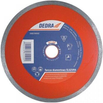 Diskas deimantinis šlapiam pjovimui 230 x 25,4 x 2,1 mm DEDRA kaina ir informacija | Mechaniniai įrankiai | pigu.lt