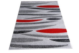 Kilimas Fantazija 01 Grey/red, 160x220 cm