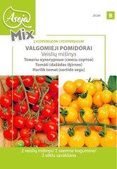 Valgomieji pomidorai (2 veislių mišinys, Red cherry cerise+ Cereza amarilla), ASEJA Fun, 0,4 gr.,(B) 28286