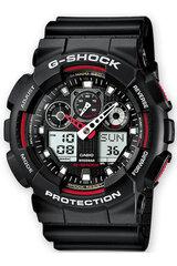 Vyriškas laikrodis Casio GA-100A-1A4ER kaina ir informacija | Vyriškas laikrodis Casio GA-100A-1A4ER | pigu.lt