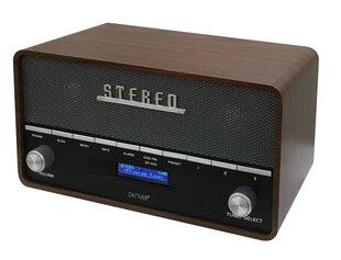 Radijo imtuvas-žadintuvas Denver DAB-36, Bluetooth, juoda-ruda kaina ir informacija | Radijo imtuvai ir žadintuvai | pigu.lt