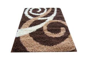 Kilimas Shaggy Long 03 Brown, 160x220 cm