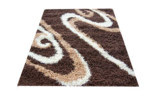 Kilimas Shaggy Long 05 Brown, 120x170 cm