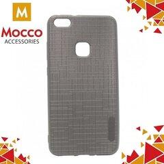 Mocco Cloth Back Case Silicone Case With Texture for Huawei P10 Lite Grey kaina ir informacija   Telefono dėklai   pigu.lt
