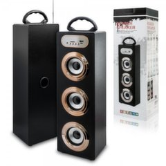 Mocco Tower Portable Speaker Bluetooth 4.0 / 15W / 360 Surround / Micro SD / USB / Remote / FM / Model 03
