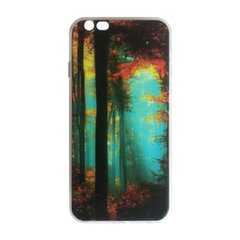 Mocco Trendy Forest Silicone Back Case for Apple iPhone 5 / 5S / SE