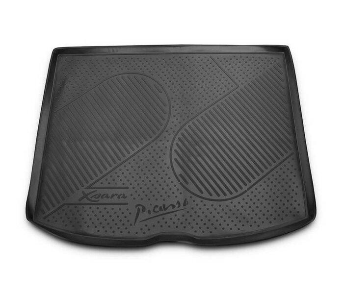 Guminis bagažinės kilimėlis CITROEN Xsara Picasso 1999-2006 black /N08030