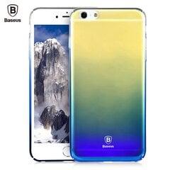 Baseus Glaze Case Impact Silicone Case for Apple iPhone 7 / 8 Transparent - Blue (OEM) kaina ir informacija | Baseus Glaze Case Impact Silicone Case for Apple iPhone 7 / 8 Transparent - Blue (OEM) | pigu.lt