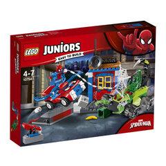 10754 LEGO® JUNIORS Žmogus voras ir Susirėmimas skorpionų gatvėje