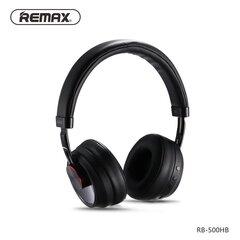 Belaidės ausinėsRemax Music Bluetooth Headphone RB-500HB, juodos
