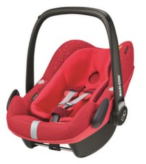 Automobilinė kėdutė MAXI COSI Pebble Plus, 0-13 kg, Vivid red
