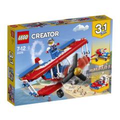 31076 LEGO® CREATOR Nutrūktgalvių kaskadinių triukų lėktuvas