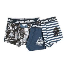 Cool Club kelnaitės berniukams Star Wars, 3 poros, LUB1610082-00