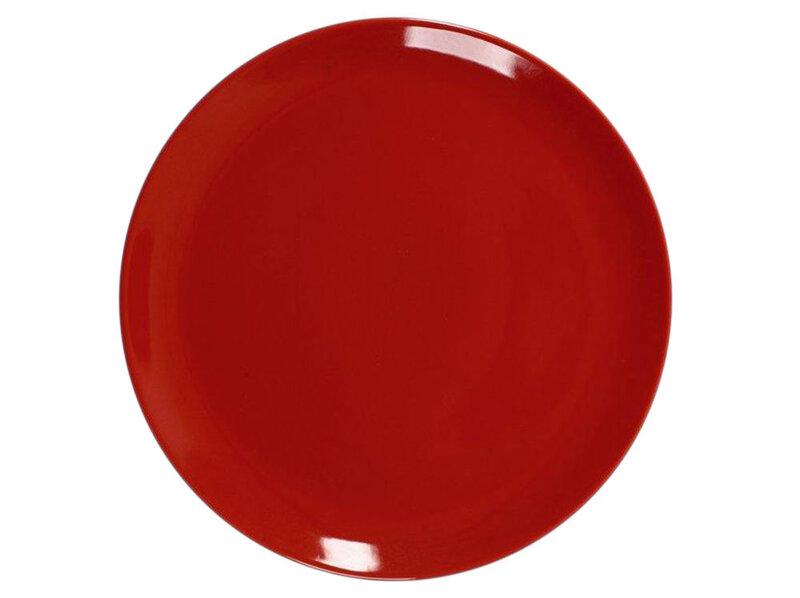 Ambition pusgilė lėkštė Fusion Fresh Red, 32 cm