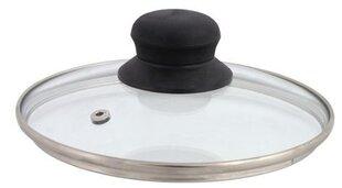 DOMOTTI stiklinis dangtis su garinimo anga, 24 cm kaina ir informacija | DOMOTTI stiklinis dangtis su garinimo anga, 24 cm | pigu.lt