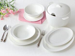 AMBITION Tiffany pietų servizas, 42 dalių kaina ir informacija | Indai, lėkštės, pietų servizai | pigu.lt