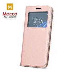 Mocco Smart Look Magnet Book Case With Window For Samsung J730 Galaxy J7 (2017) Pink kaina ir informacija | Telefono dėklai | pigu.lt