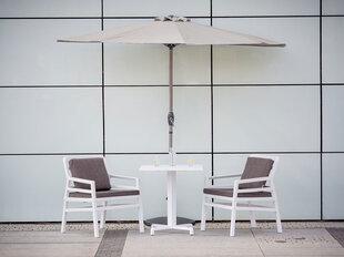 Plastikinis stovas pusapvaliam lauko skėčiui Patio 15 kg, juoda kaina ir informacija | Skėčiai, markizės, stovai | pigu.lt