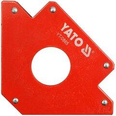 Magnetinis suvirinimo kampainis-laikiklis Yato kaina ir informacija | Mechaniniai įrankiai | pigu.lt