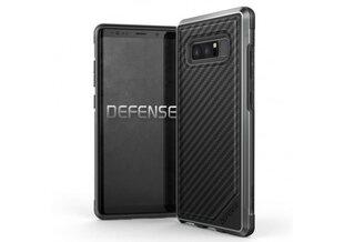 Samsung Galaxy Note 8 Defense Lux Cover By Xdoria Carbon Fiber