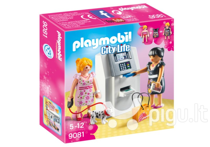 9081 PLAYMOBIL® City Life, Bankomatas