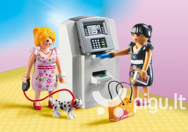9081 PLAYMOBIL® City Life, Bankomatas internetu