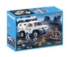 9371 PLAYMOBIL® City Action, Policijos visureigis
