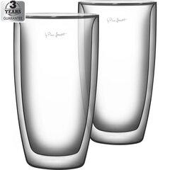 LAMART Vaso dvigubo Caffe Latte puodeliai, 380 ml, 2 vnt