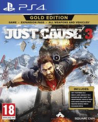 Just Cause 3 Gold Edition,PS4