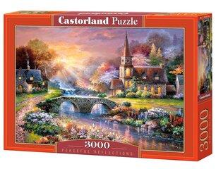 Dėlionė Puzzle Castorland Peaceful Reflections, 3000 det kaina ir informacija | Dėlionės (puzzle) | pigu.lt