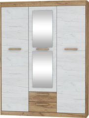 Spinta Maximus 3D2S, ruda/balta kaina ir informacija | Spinta Maximus 3D2S, ruda/balta | pigu.lt