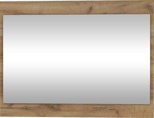 Veidrodis Maximus 80, rudas/sidarbinis kaina ir informacija | Veidrodis Maximus 80, rudas/sidarbinis | pigu.lt