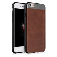 Qult Luxury Slate Back Case Silicone Case for Apple iPhone X Brown kaina ir informacija | Qult Luxury Slate Back Case Silicone Case for Apple iPhone X Brown | pigu.lt