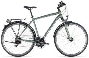 "Vyriškas trekingo dviratis Cube Touring 2018 green""n""silver"