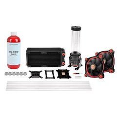 Thermaltake Pacific RL240 D5 Hard Tube Water Cooling Kit (CL-W128-CA12RE-A)