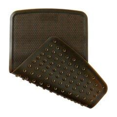 Natūralaus kaučiuko vonios kilimėlis Hevea, 55x32 cm, juodas kaina ir informacija | Natūralaus kaučiuko vonios kilimėlis Hevea, 55x32 cm, juodas | pigu.lt