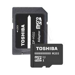 Toshiba microSD 32GB M203, UHS-I U1 +adapter