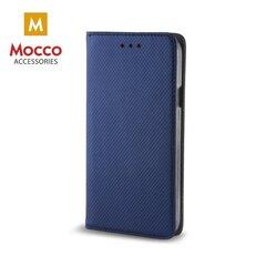 Mocco Smart Magnet Book Case For Samsung A530 Galaxy A8 (2018) Blue kaina ir informacija | Telefono dėklai | pigu.lt