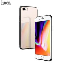 Hoco Premium Vitreous Shadow Back Case Silicone Case for Apple iPhone X Pink-Gold